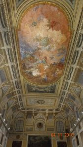 Don't forget to look up - the ceilings at the Naples Archaeological Museum are stunning