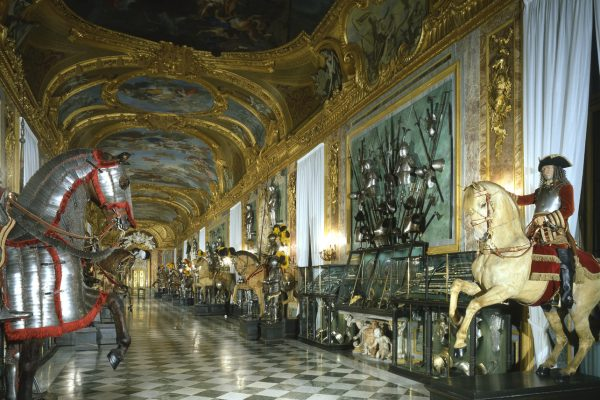 Inside the Royal Armoury in Turin