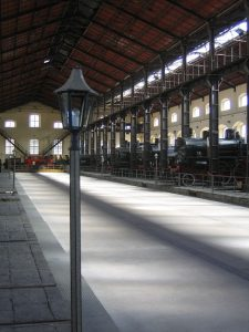 Naples National Railway Museum is just outside the historic centre.