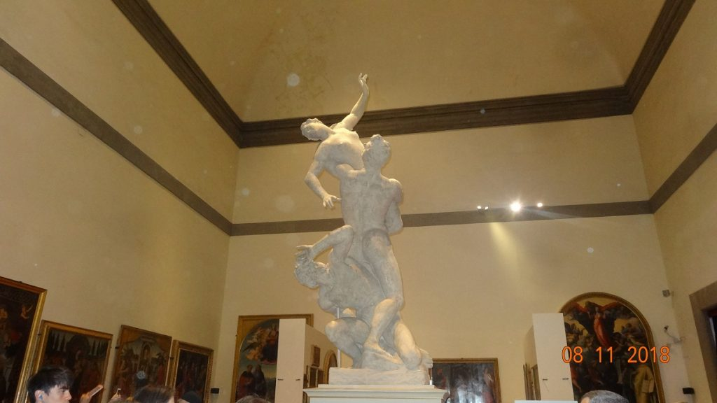 Giambologna's Rape of the Sabines at the Accademia Gallery