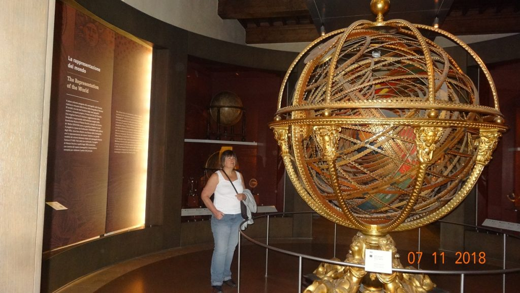 Armillary Sphere at the Galileo Museum in Florence