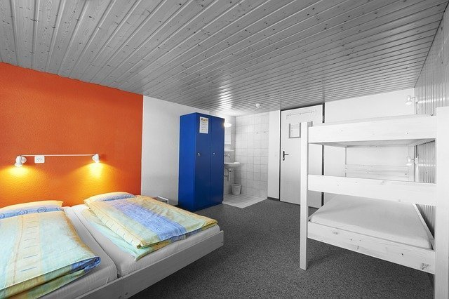 Hostels are clean and modern