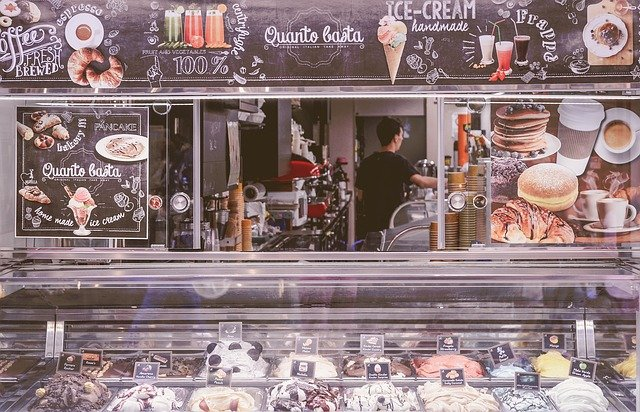 Eat gelato on the Naples Waterfront
