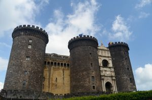 Castel Nuovo in Naples Historic Centre