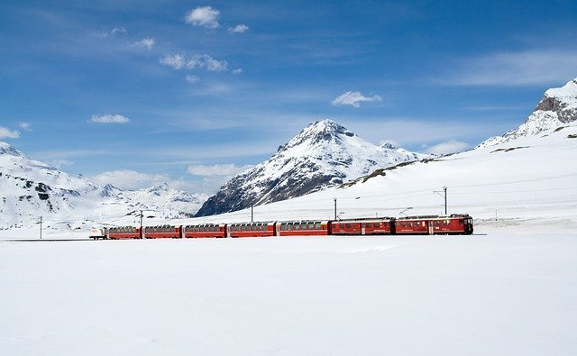 Scenic railway - Bernina Express