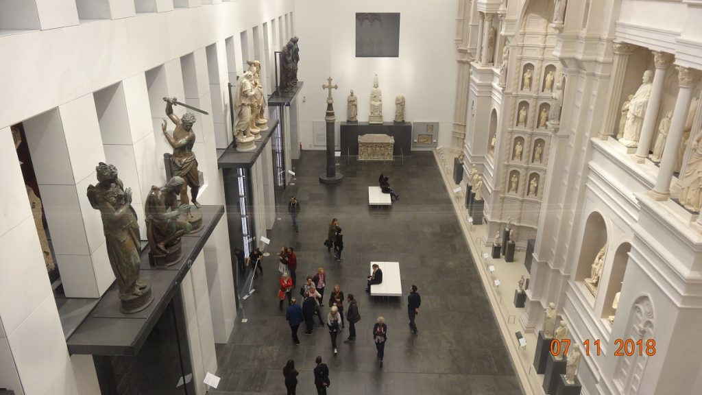 The sculpture gallery at the Opera del Duomo museum