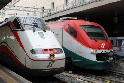 Travel to Italy by train