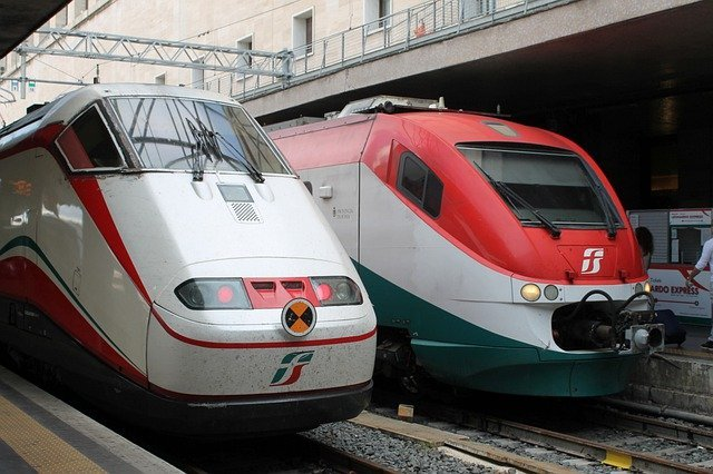 Trains are a great way to get around Italy