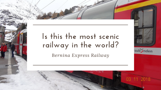 Is this the most scenic railway in the world?