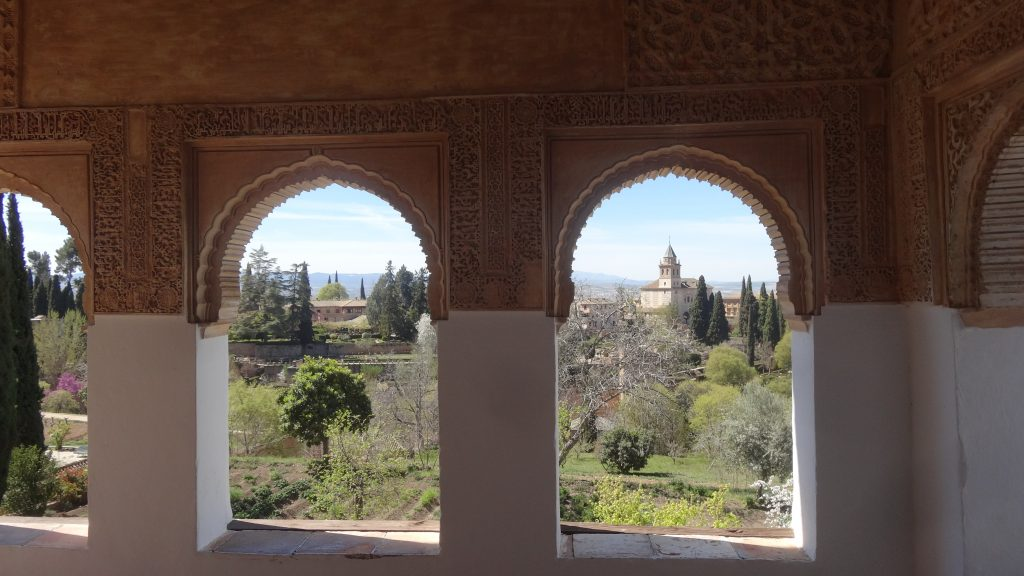 Road trip to Spain Inside the amazng Alhambra gardens