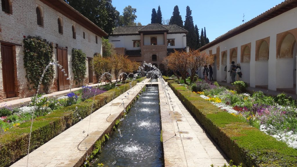 Road trip to Spain The beautiful gardens at the Alhambra