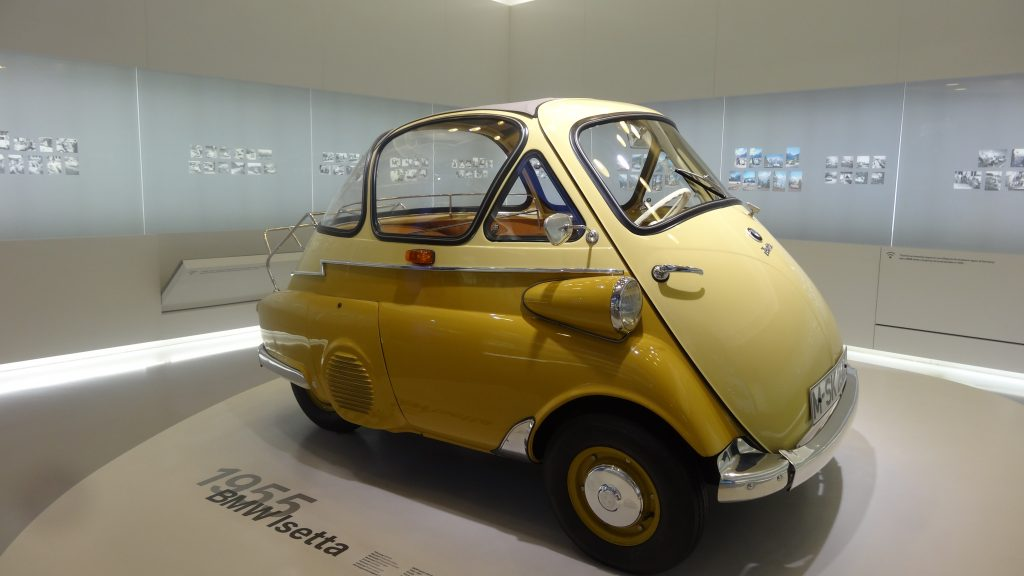 Take a day trip to the BMW Museum and see some of the quirky cars of yesteryear