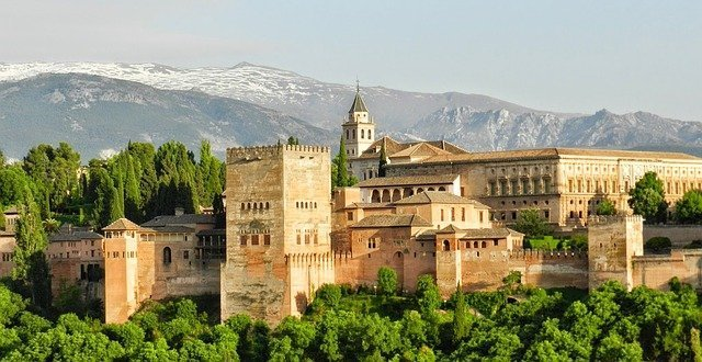 The Alhambra Palace near Granada is a highlight of any Spain Itinerary