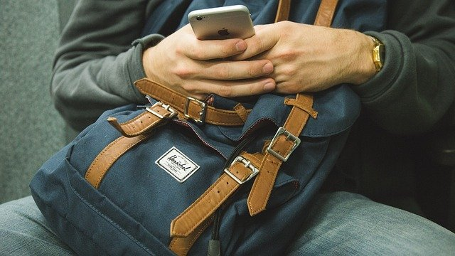 When travelling by train you may be able to show a ticket on your smartphone
