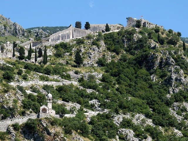 Things to do in Kotor. Climb the steps to the fortress.