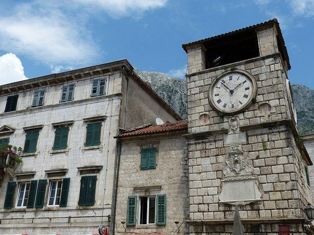 Things to do in Kotor. The Clock Tower