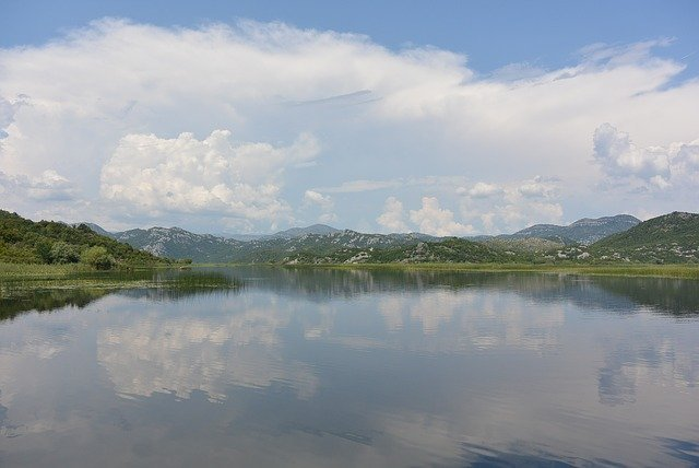 Balkan tour. Lake Skadar in Montenegro was formed by the tears of a pixie.