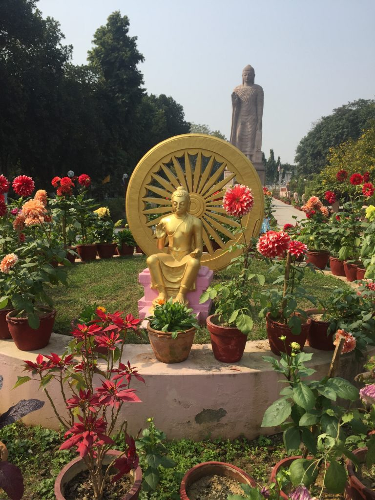 Golden Buddha in Sarnath