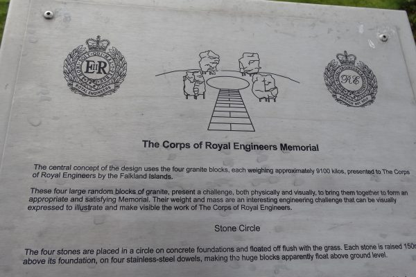 The Corps of Royal Engineers Memorial
