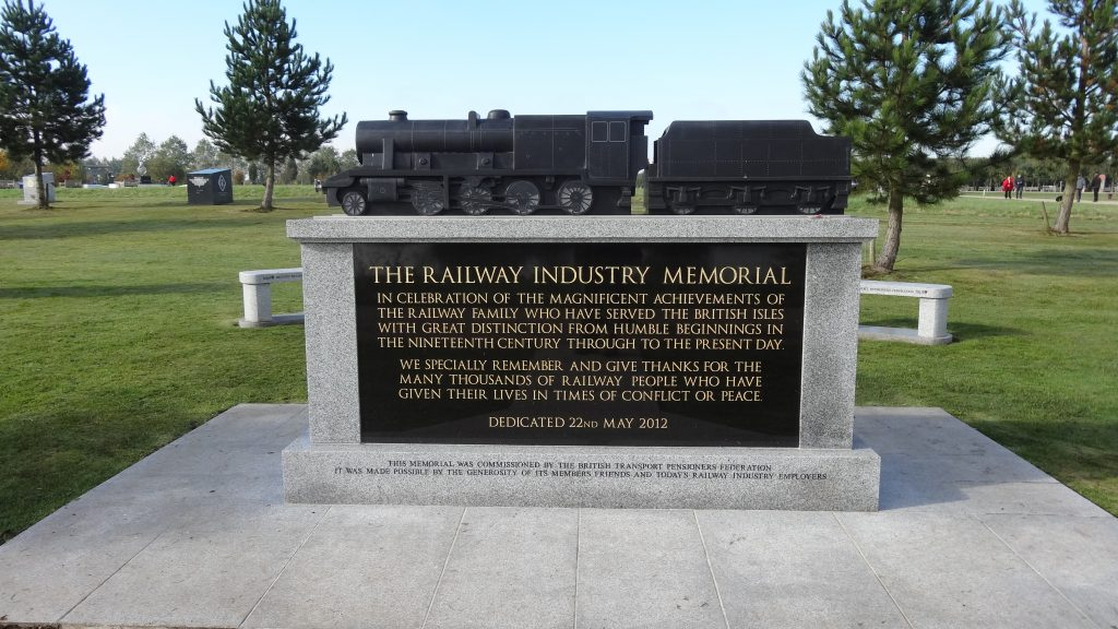 The National Arboretum Staffordshire The Railway Industry Memorial