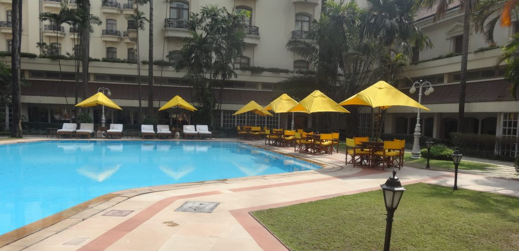 Travel to India Pool at the Oberoi Grand Kolkata
