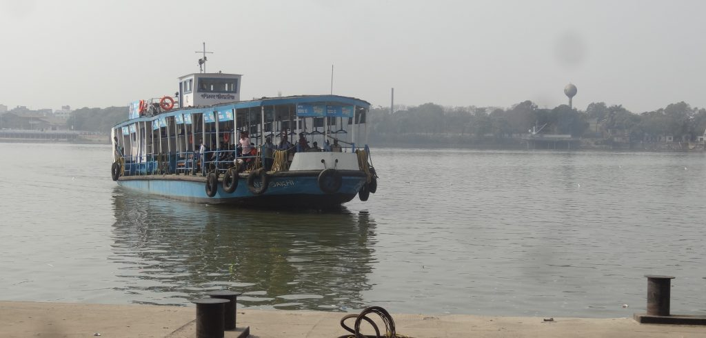 Ferry on the river Hooghly
