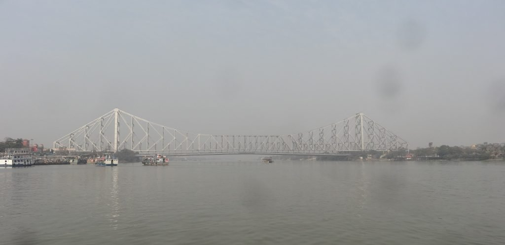 The Howrah Bridge in Kolkata