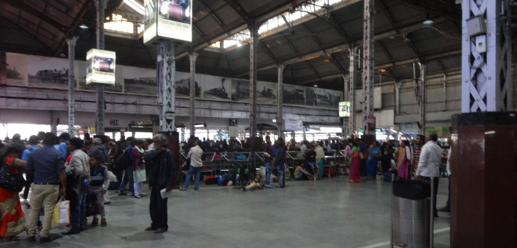 We Travel to India Inside Howrah Railway Station