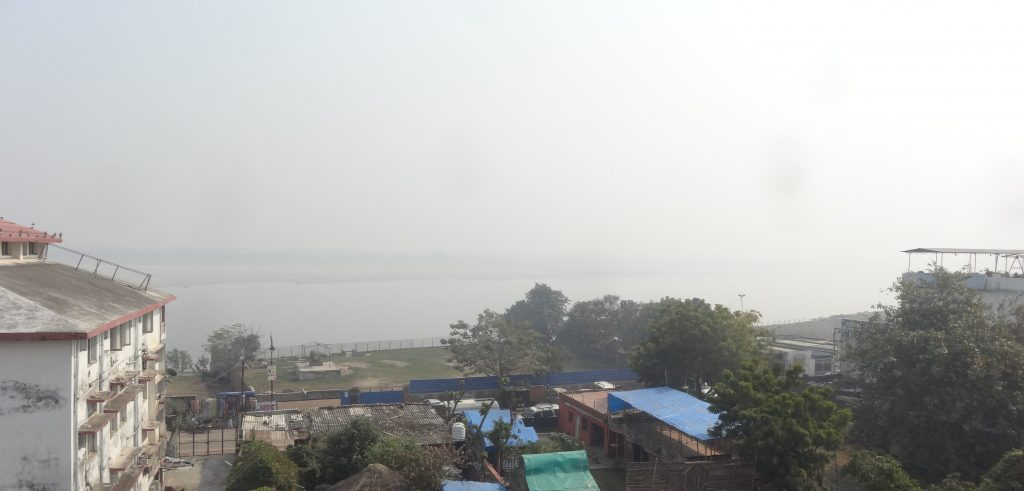 View of Ganges from Hotel Temple Ganges