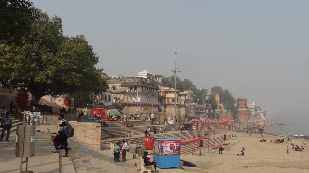 View from Assis Ghat Varanasi
