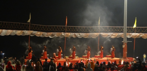 Morning Aarti Ceremony at Assi Ghat