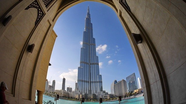 We Travel to India The world's tallest building, The Burj Khalifa in Dubai