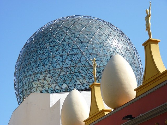 An easy day trip from Barcelona  The Dali Theatre Museum in Figueres Spain