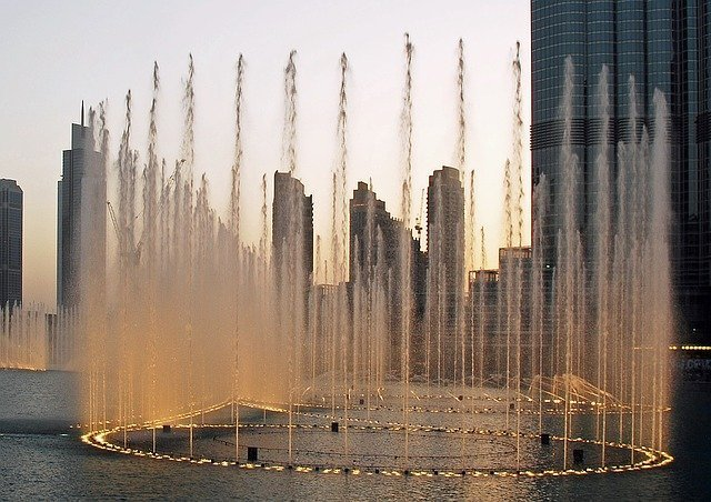 Fountains at the Dubai Mall
