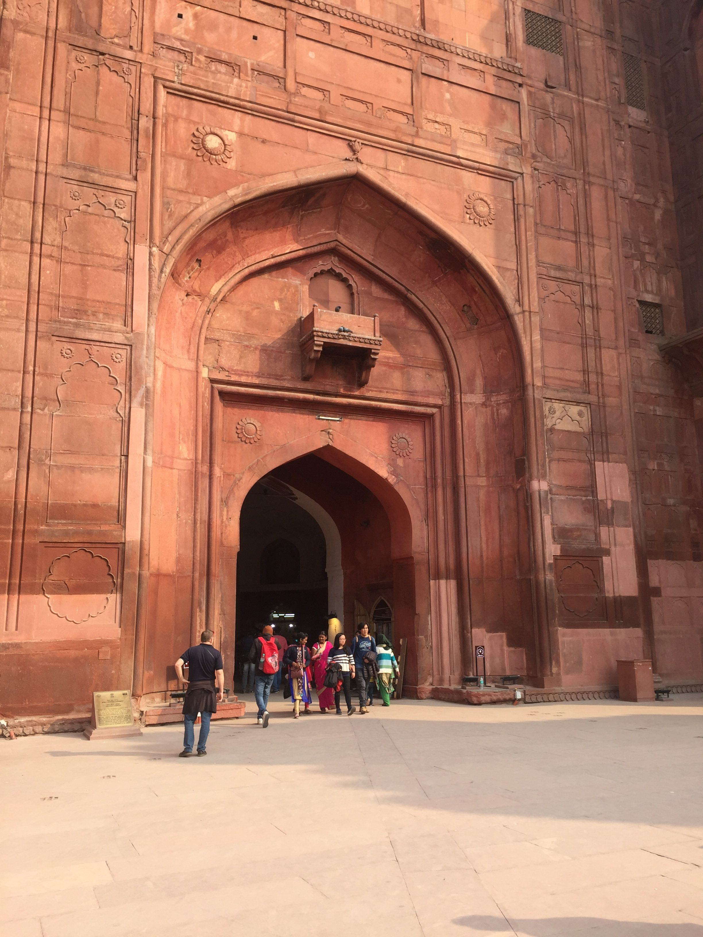 The Red Fort or Lal Qila