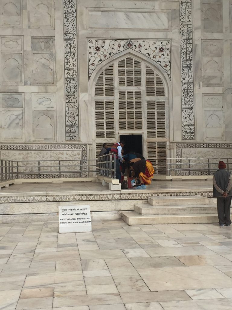 Entrance to the Taj Mahal Tomb