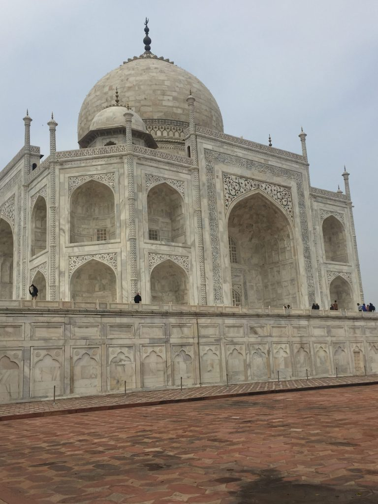 Close up View of the Taj Mahal