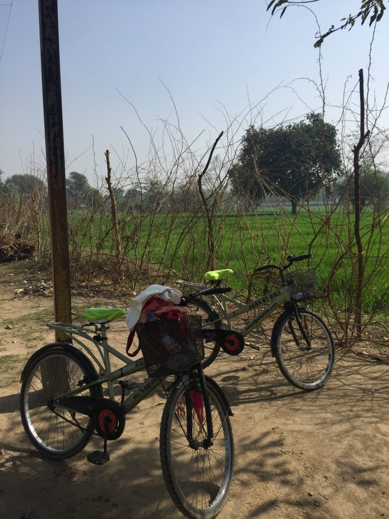 Cycling in the Agra Countryside