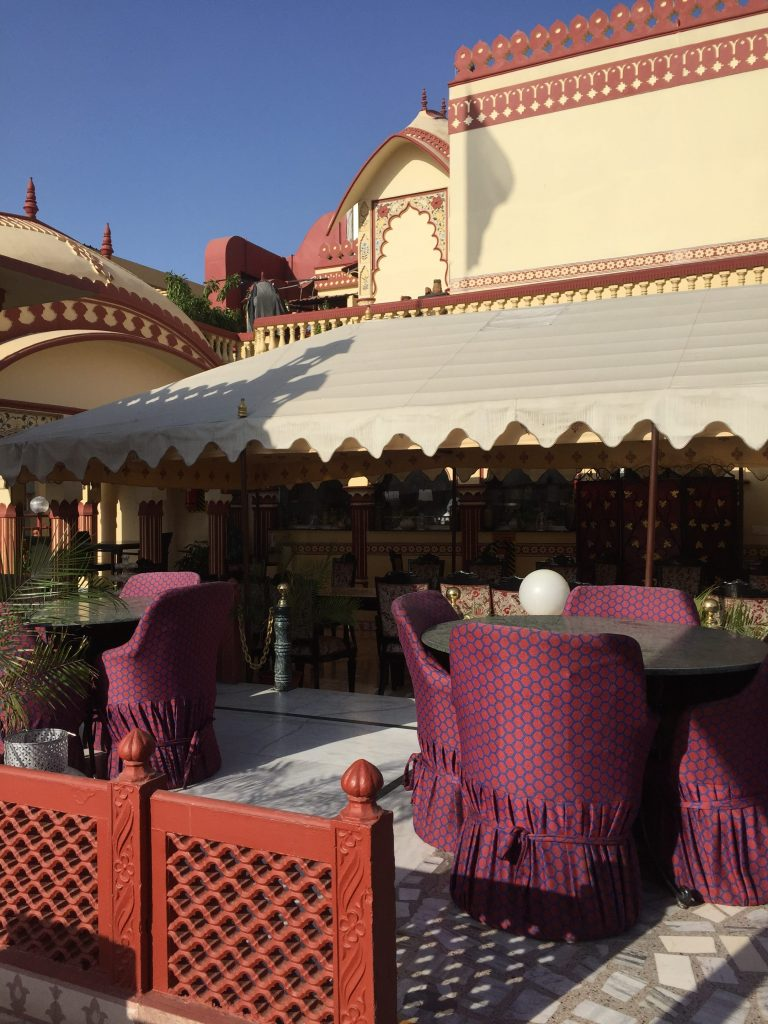 Best Hotels in Jaipur Rooftop Restaurant at Umaid Bhawan Hotel in Jaipur