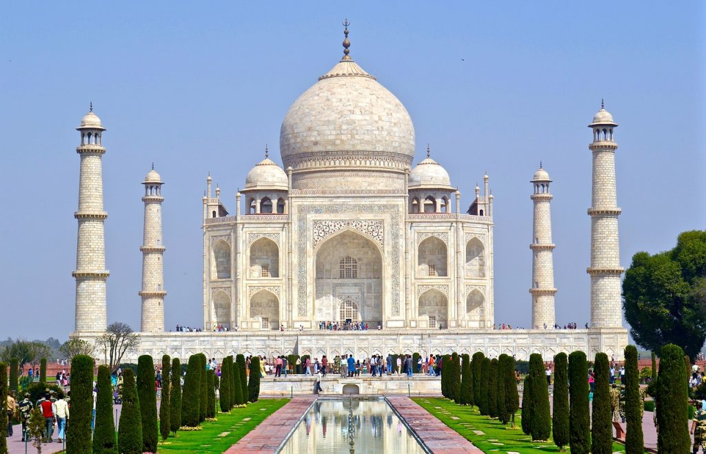 The Taj Mahal tops any list of places to visit in Agra