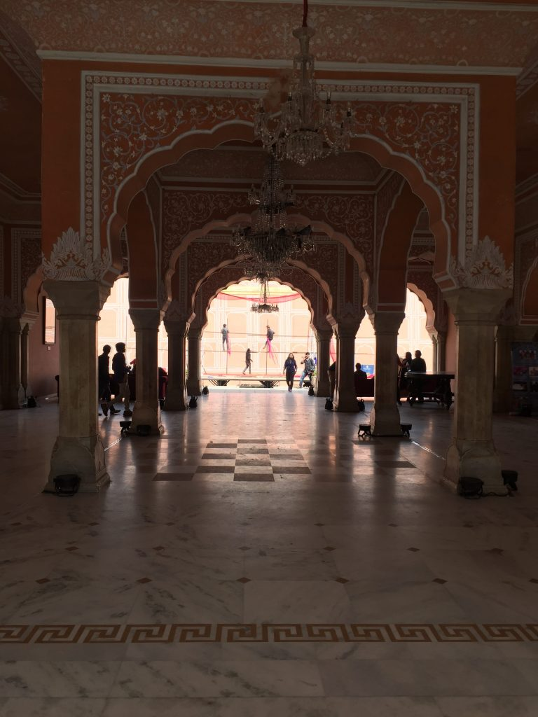 Sarvato Bhadra -Even the inside of the palace is pink Jaipur Sightseeing Tour