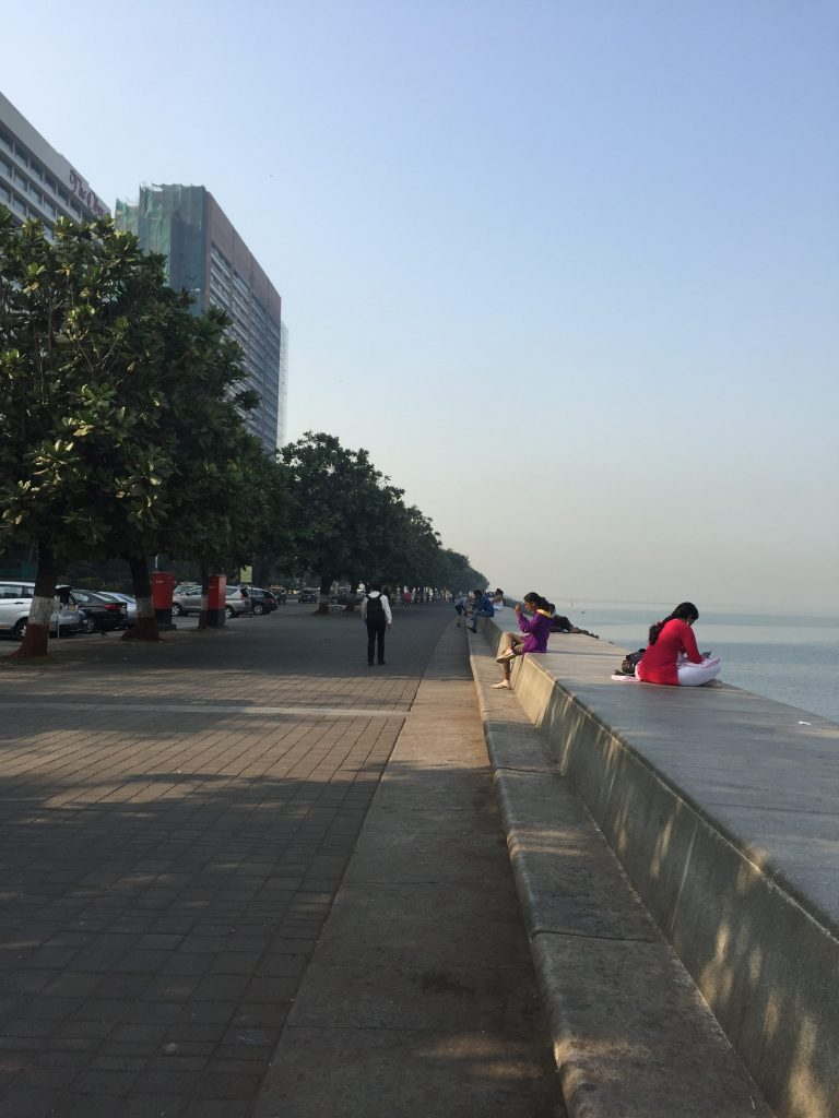 The Trident Nariman Point Hotel overlooks the bay