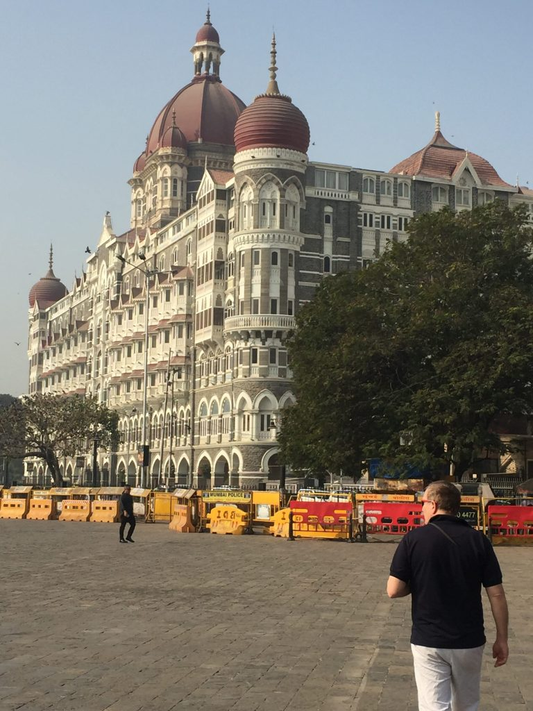 The Taj Mahal Palace Hotel in Mumbai