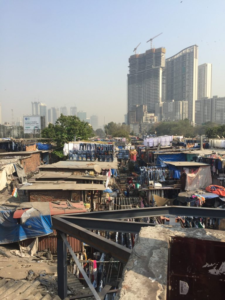 Tourist Places in Mumbai Dhobi Ghat The World's largest outdoor laundry