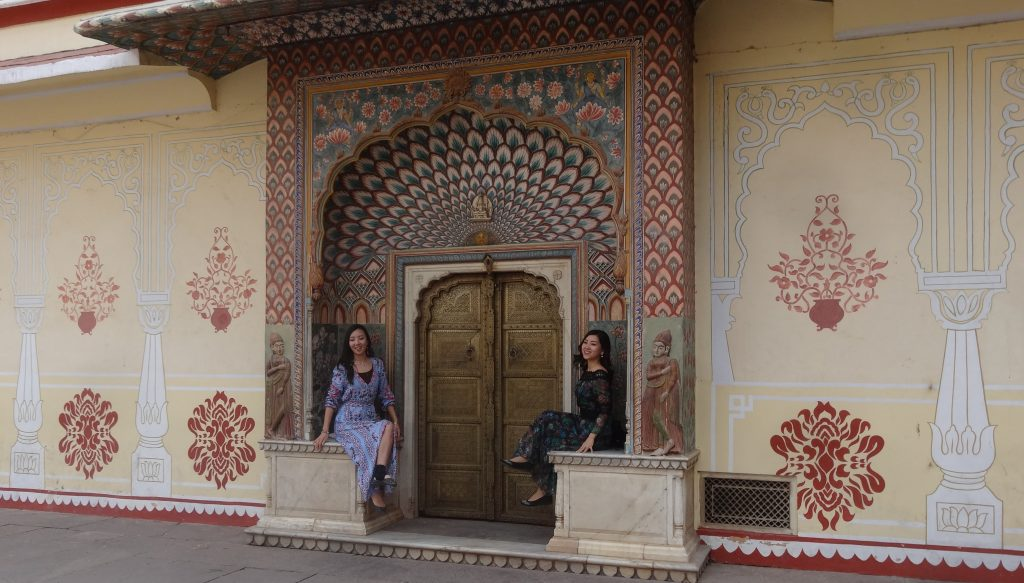 Oranate Doorway at the City Palace Jaipur