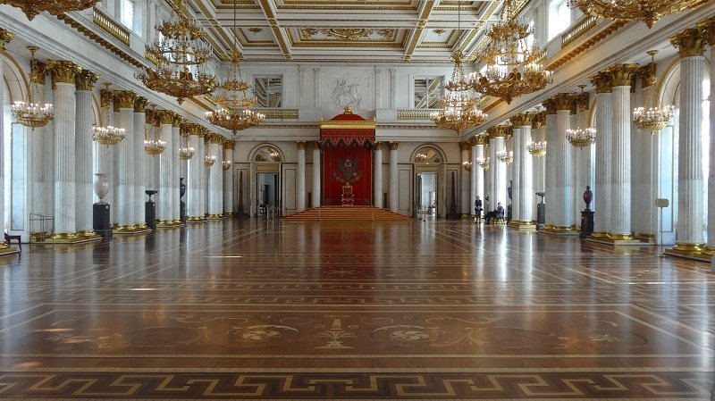 The Hermitage in St Petersburg Russia