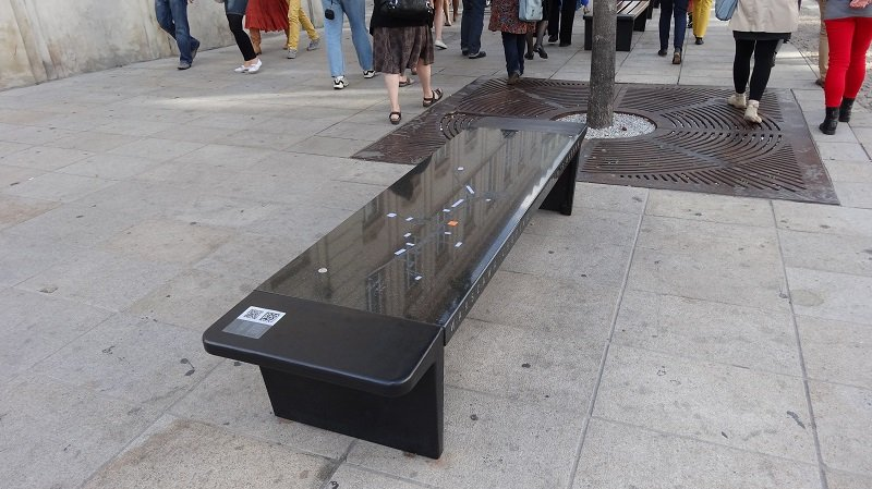 Chopin Musical Benches