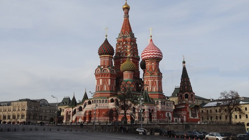 Travel Around the  World Without Flying St Basil's Cathedral in Moscow