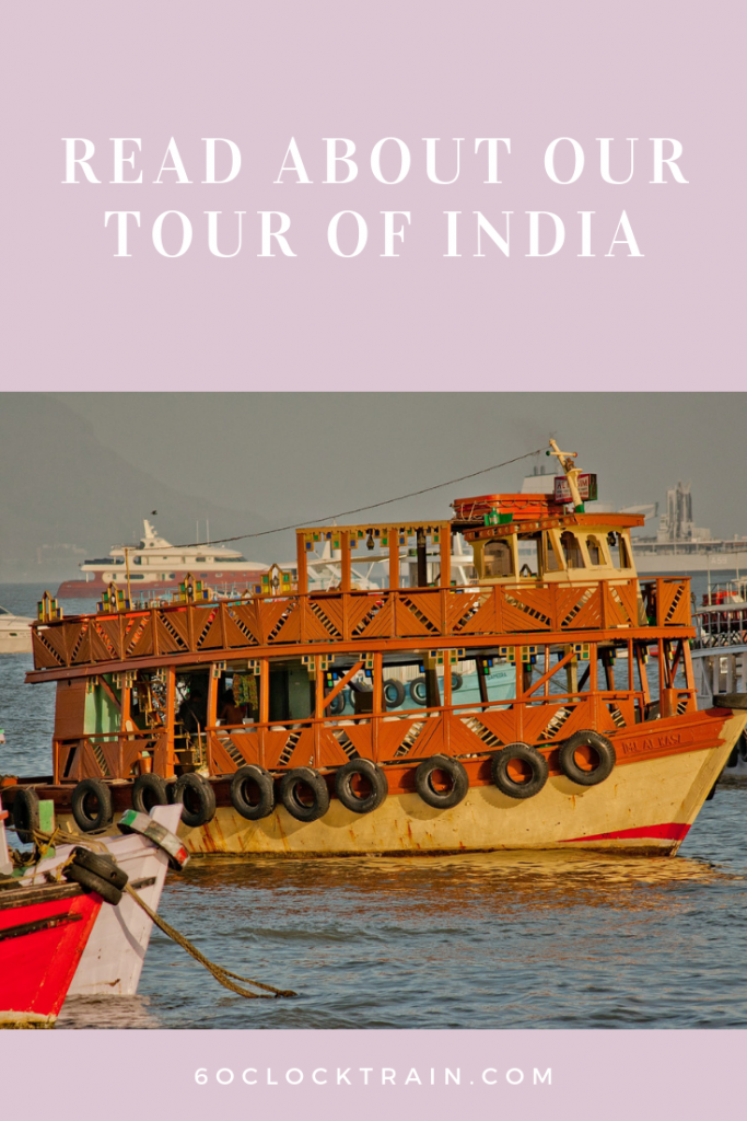 Read all about our tour of India