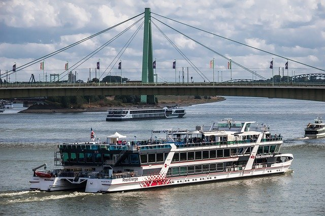 Take a boat trip along the Rhine River